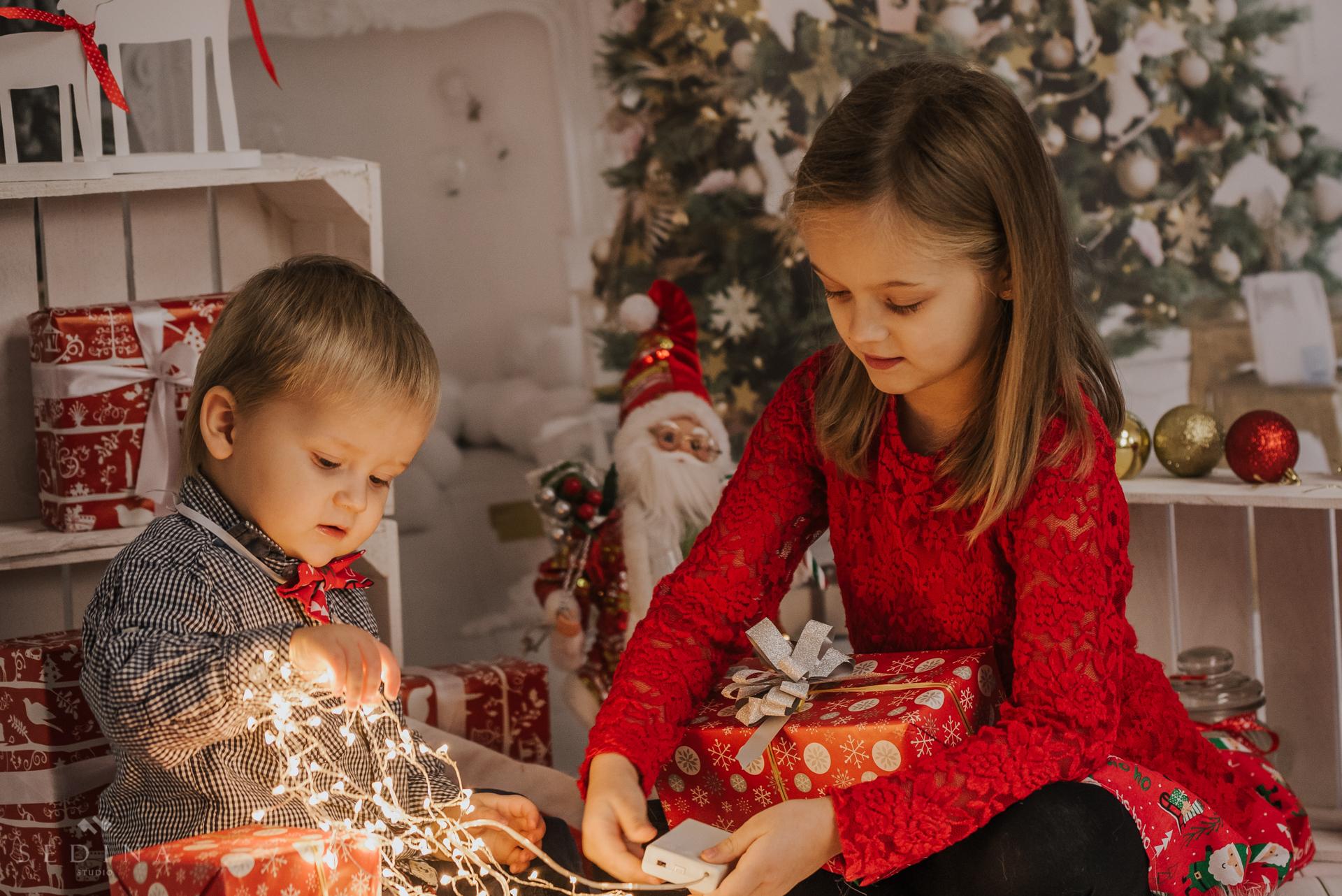 Sesja Świąteczna – Maja i Oliwier