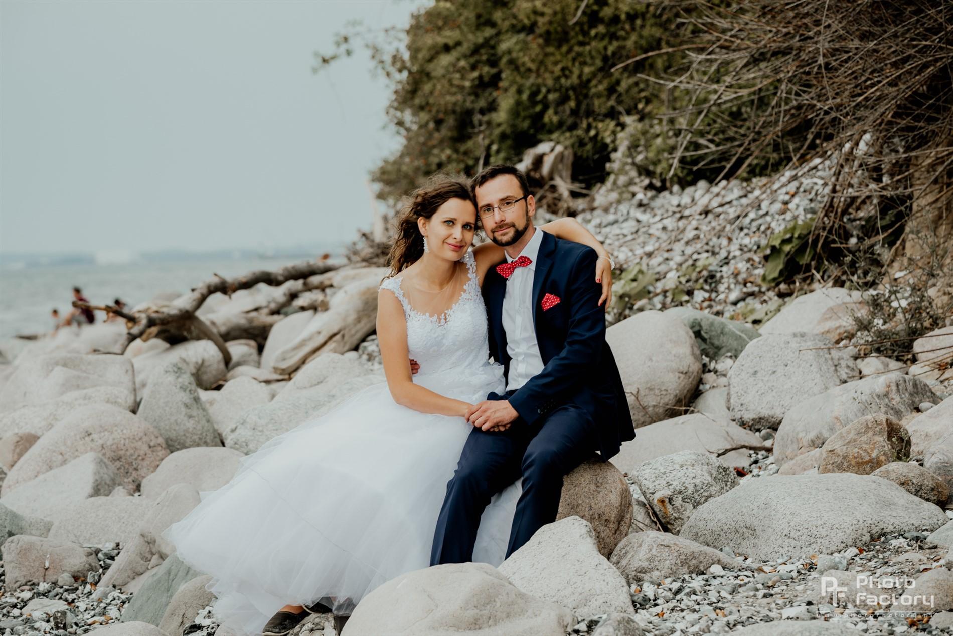 Piękna sesja ślubna oraz reportaż ślubny małgorzaty i łukasza - fotograf szczecin