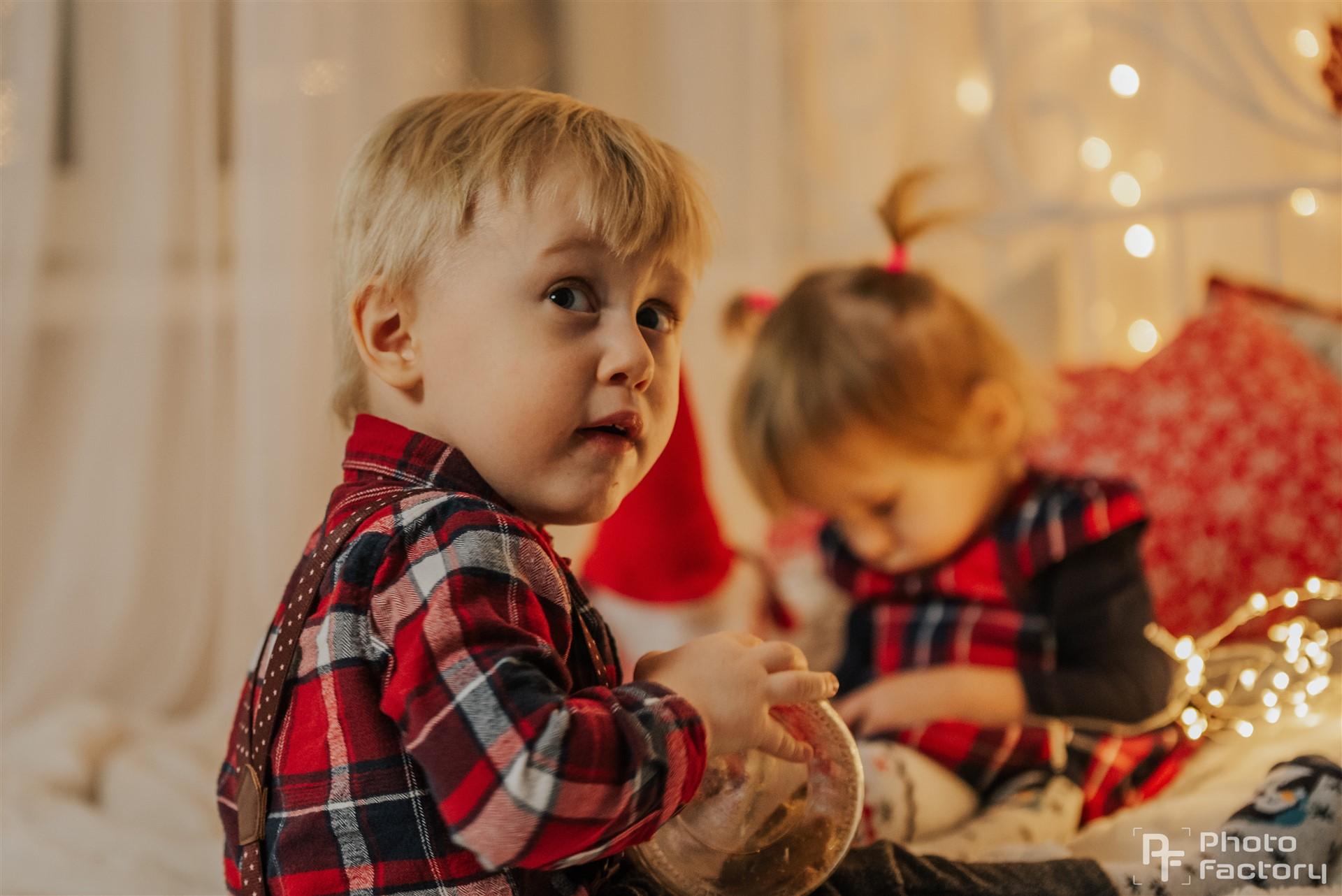 Sesja Świąteczna Małgosi i Jasia